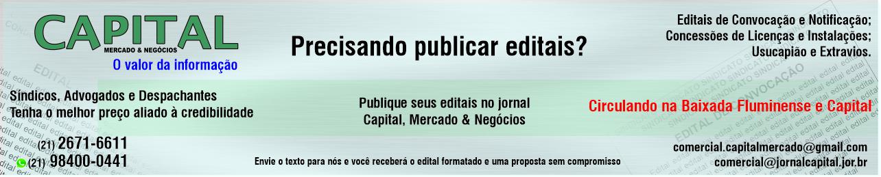 Jornal Capital - Publique seu edital conosco